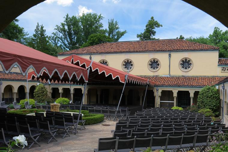caramoor courtyard