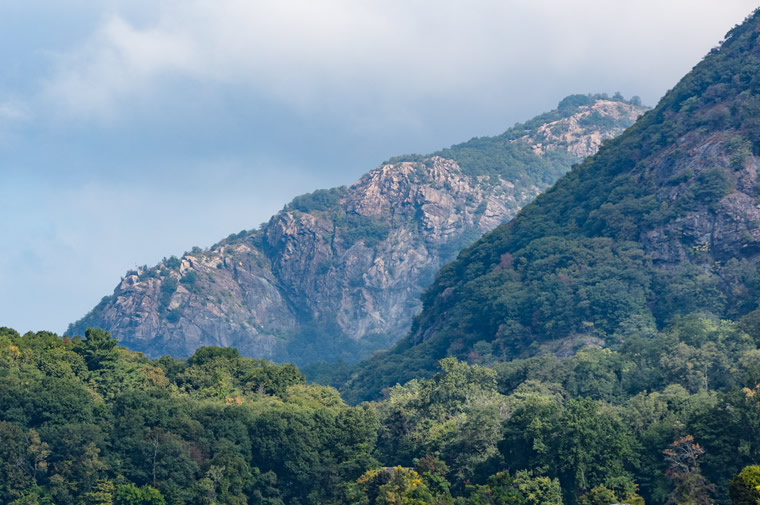 mountains in cold spring