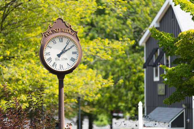 pound ridge clock