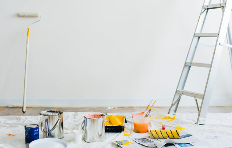 a painter's ladder