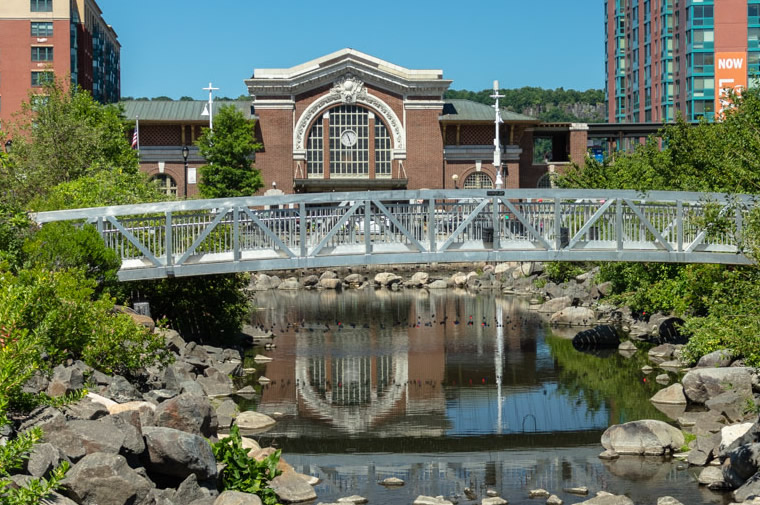 saw mill river by train station