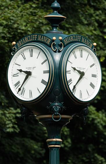 briarcliff manor clock
