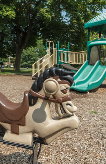 scarsdale playground horse