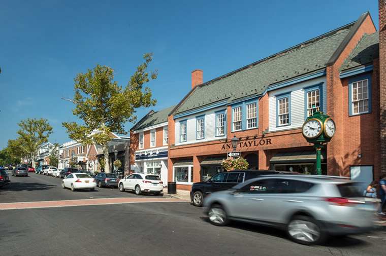 new canaan downtown