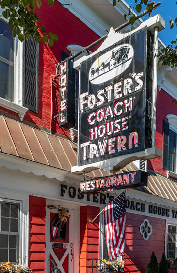 fosters coach house rhinebeck