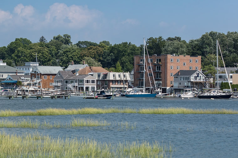 rowayton village harbor view